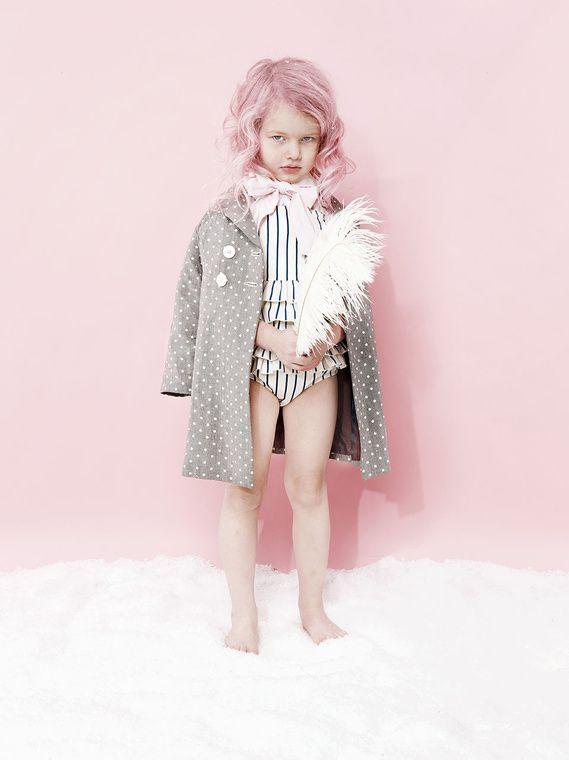 #minirodini ss13 stripe swim suit by Karolina Henke
