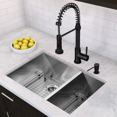 Randolph Morris 20 Inch Single Bowl Farmhouse Sink With Chrome Drain And Grid Single Bowl Kitchen Sink Kitchen Sink Remodel Farmhouse Sink Kitchen