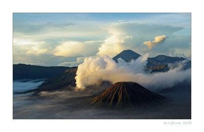 mount Bromo in East Java (Jawa Timur)