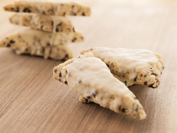 Get Vanilla Chocolate Chip Mini Scones Recipe from Food Network