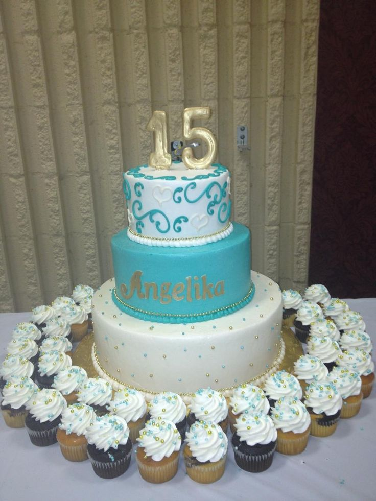 17 Best images about Sweet 16/ Quinceanera Cakes on ...