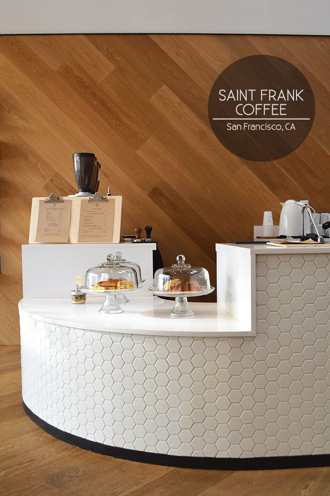 There's so much to love about Saint Frank, my favorite coffee spot in Russian Hill. First things you'll notice are the open, skylit space + the gorgeous woodwork and plentiful seating. Second are t...