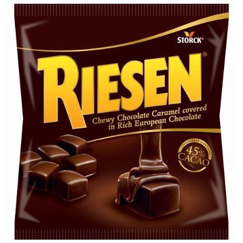 Riesen, Chewy Chocolate Caramel Covered in Rich European Chocolate, 9oz Bag (Pack of 6) - http://bestchocolateshop.com/riesen-chewy-chocolate-caramel-covered-in-rich-european-chocolate-9oz-bag-pack-of-6/