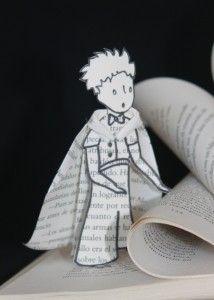 Altered book - The Little Prince. Livre d'artiste - Le Petit Prince. Libro de artista - El Principito. Marielle JL Paper Creations