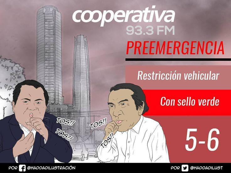 Ojo atención: este lunes hay preemergencia ambiental en Santiago con restricción para los autos con patentes que terminen en 5 y 6