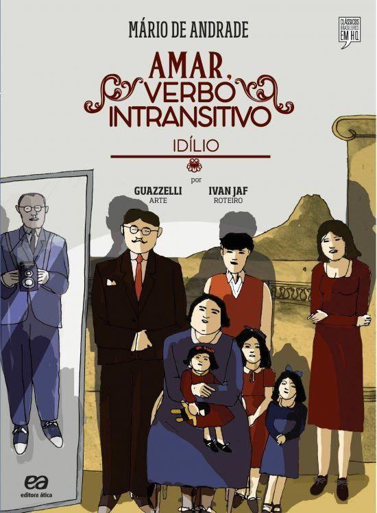 'Amar, Verbo Intransitivo', romance de Mário de Andrade, ganha adaptação em quadrinhos – Era Outra Vez