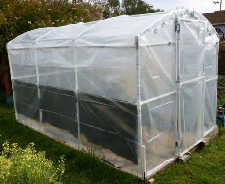 Landscaping And Outdoor Building , Build Greenhouse Using PVC : Handmade Greenhouse Using PVC