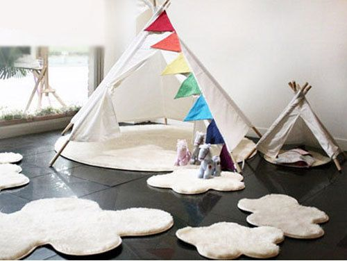 Toriee Big Cloud Rug Set by gainstory on Etsy, $209.00