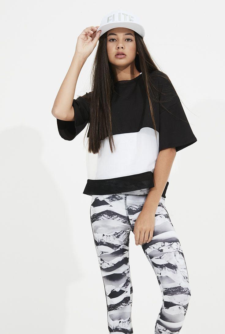 Anthea Top, Crystal Legging + Elite Cap - Pavement Brands