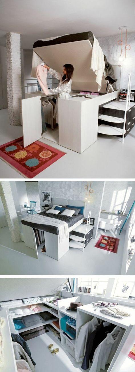 Kleine Räume Geschickt Einrichten : 1001 ideen zum thema kleine r ume geschickt einrichten kleines schlafzimmer einrichten ~ Watch28wear.com Haus und Dekorationen