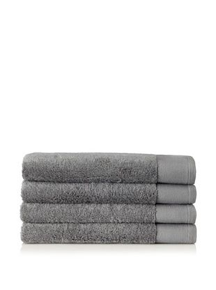 Schlossberg Set of 4 Interio Hand Towels, Stone