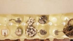 HOW TO PACK MY JEWELRIES FOR A MOVE ?  Tangled jewelry is one of those things you won't want to spend time on when you move into your new place.Make sure to pack it separately. Here are some cool idea's we have for you *Use your ice tray container/Daily peel organizer.  *Slip the chains of necklaces into soda straw- That's a cool one!!  *Take a piece of cardboard and tape each necklace at the top and at the base of the chain to the cardboard.  * Egg Cartons- fit nicely into the pockets