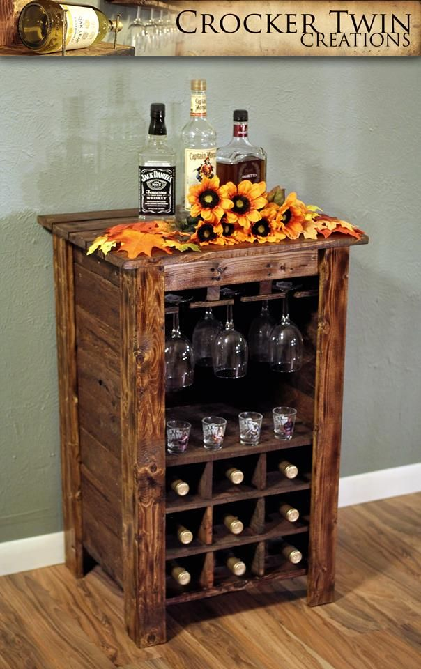 17 Best Images About Rustic Wine Racks On Pinterest