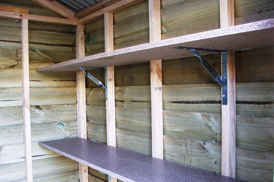 Storage Shed Shelving Plans 187 Shed Plan Project