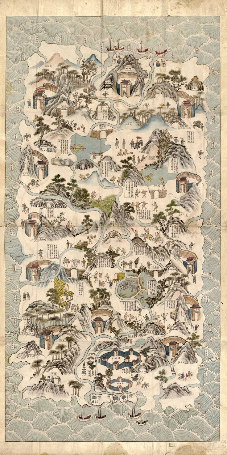 Antique Map of China Antique Map of