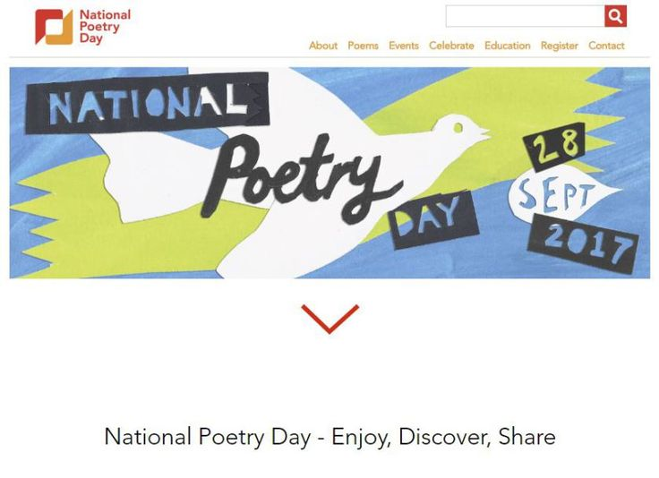 "The Forward Arts Foundation in the UK is offering lots of cool free stuff for National Poetry Day. What is National Poetry Day? According to their site: ""National Poetry Day is an annual cele…"