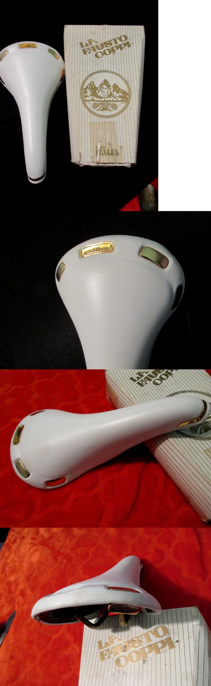 Saddles Seats 177822: Nos Selle Italia La Fausto Coppi Saddle # 144 -> BUY IT NOW ONLY: $325 on eBay!