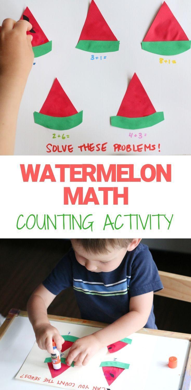 Watermelon Math Counting Activity Math Counting Activities Counting Activities Math Activities [ 1500 x 735 Pixel ]
