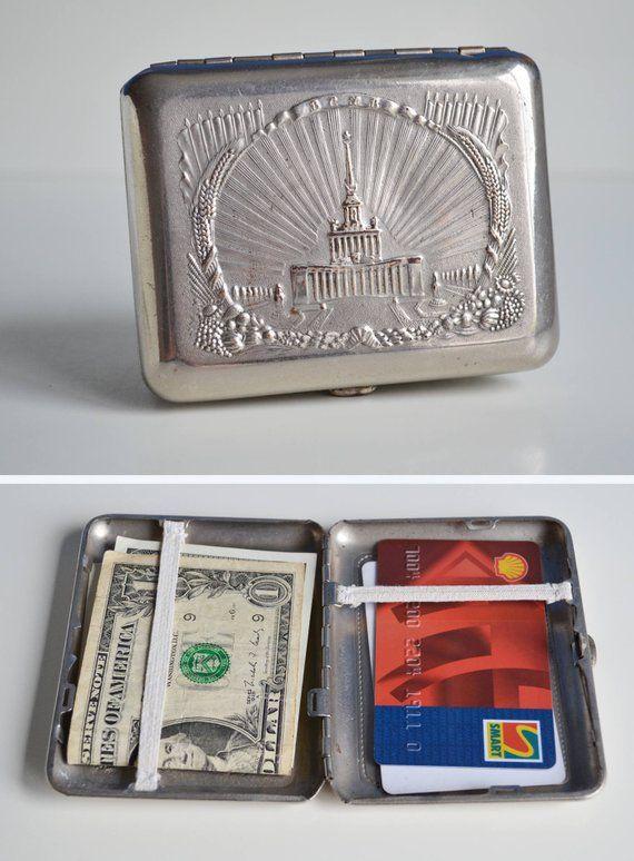 Metal wallet retro cigarette case cigarette manufacturers in congo