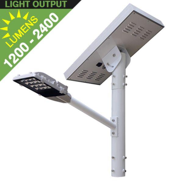 SL40 Solar 12W / 24W LED Street/Parking Lot Light (Without Pole)