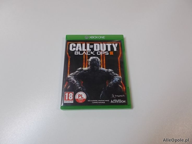 Call of Duty Black Ops III - GRA Xbox One - Opole 0460 (Opole)