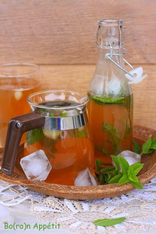 Blog Bo(ro)n Appétit: Mrożona zielona herbata