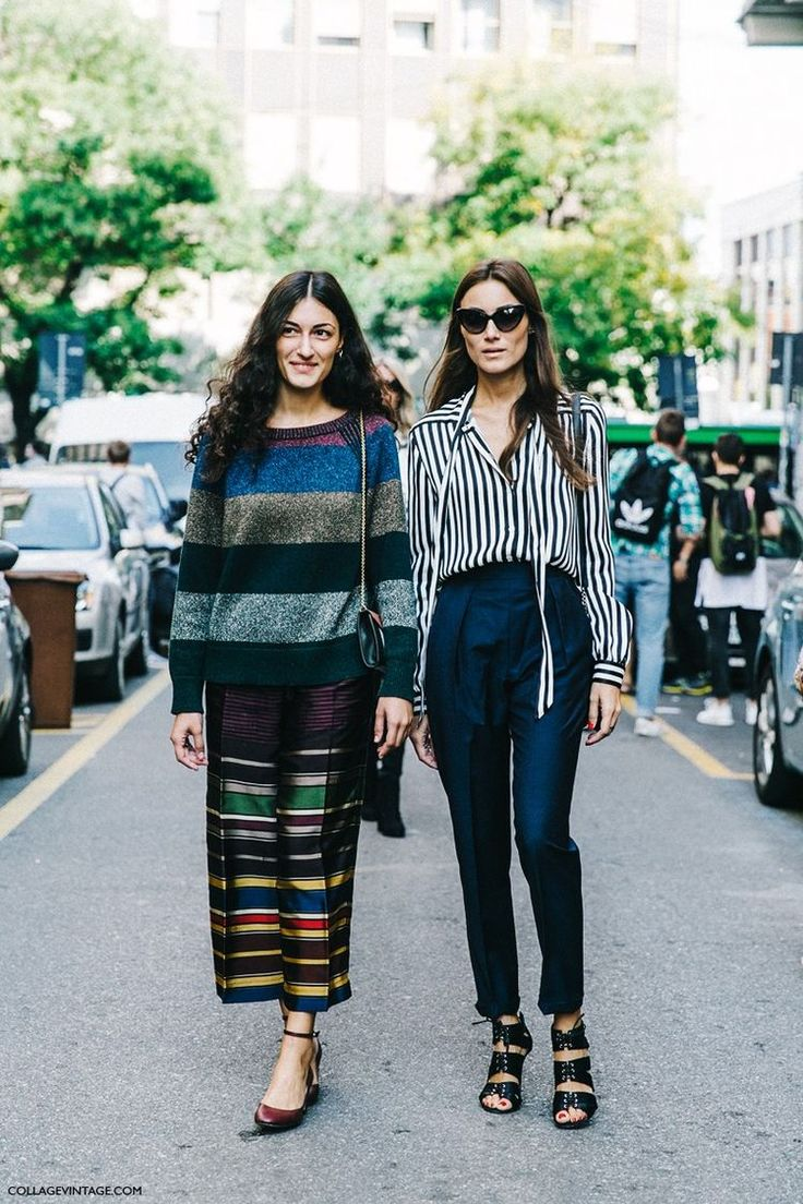 Striped Blouse | High Waisted Jeans | Midi Skirt