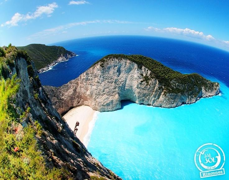 Un rincón del mundo llamado...Playa Navagio (Shipwreck) Grecia