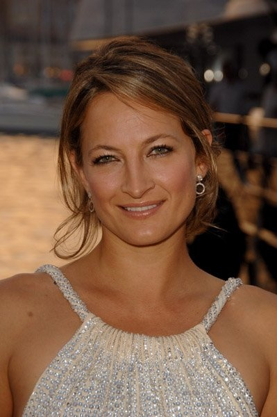 Zoe Bell. Stuntwoman for Uma Thurman's character in Kill Bill 1, 2