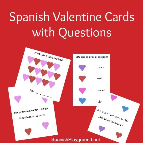 spanish valentine cards to print valentine day cards yoga for kids and the end. Black Bedroom Furniture Sets. Home Design Ideas