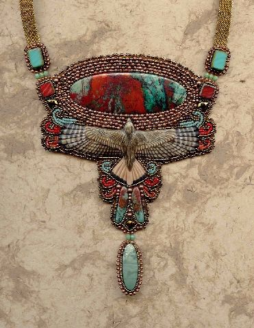 by Heidi Kummli Free Spirit Gallery… so many beautiful things! From Nederland CO and Bead & Button magazine.