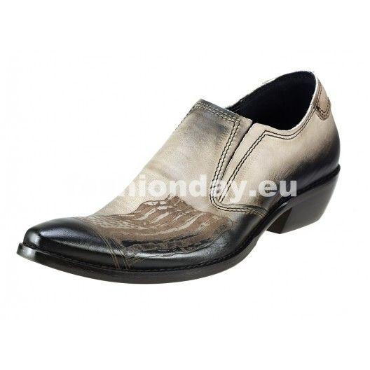 Pánske kožené kovbojky - fashionday.eu