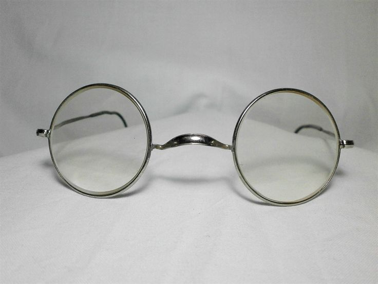 Antique eyeglasses frame (2), ultra Panto, men's, women's, unisex, hyper vintage by FineFrameZ on Etsy