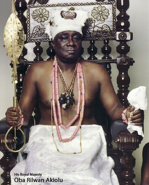 Oba(King) Rilwan Akiolu was born October 29, 1943 and was installed as Oba of Lagos in May 2003.He studied at University of Lagos where he read Law. He joined the Nigeria Police Force where he rose to the position of Assistant Inspector General.He's the traditional sovereign of Lagos, Lagos state, Nigeria.The official residence of the Oba, since 1630, is Iga Idungaran, a castle constructed by the Portuguese (finished in 1705). Today Oba's palace is a very popular tourist sight in Lagos…