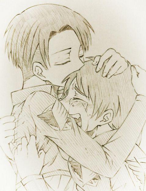 Levi and Eren: