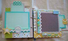 best baby boy album I've seen! Scrapbooking by Phyllis: Premade Chipboard Scrapbook Album *Baby Boy*