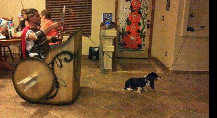 19 Incredibly Clever Halloween Costumes for Wheelchair Users