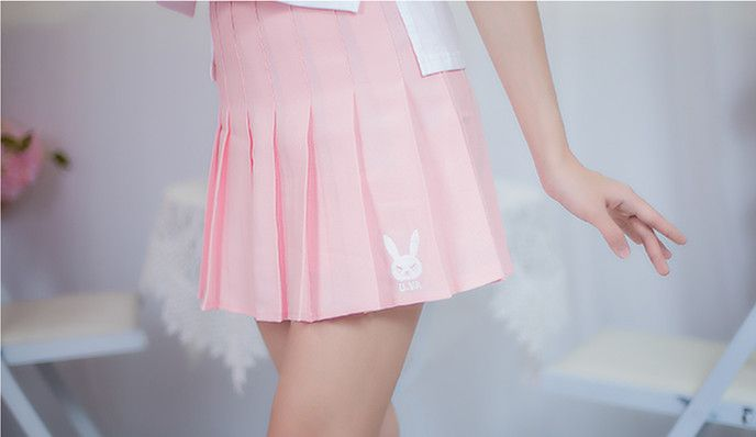[Overwatch] D.VA Hana Song Cute Pink Skirt //Price: $38.98 & FREE Shipping //#overwatch #PUBG #PLAYERUNKNOWNSBATTLEGROUNDS #PLAYERUNKNOWNBATTLEGROUND …