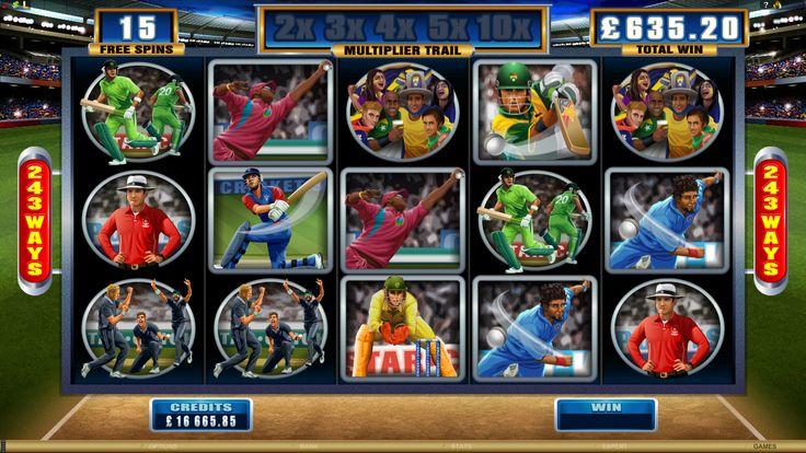 Cricket Star Online Slot Game