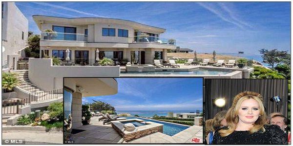 Inilah rumah baru Adele di Malibu