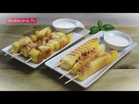 Grillowany ananas z jogurtem kokosowym :: Skutecznie.Tv [HD] - YouTube
