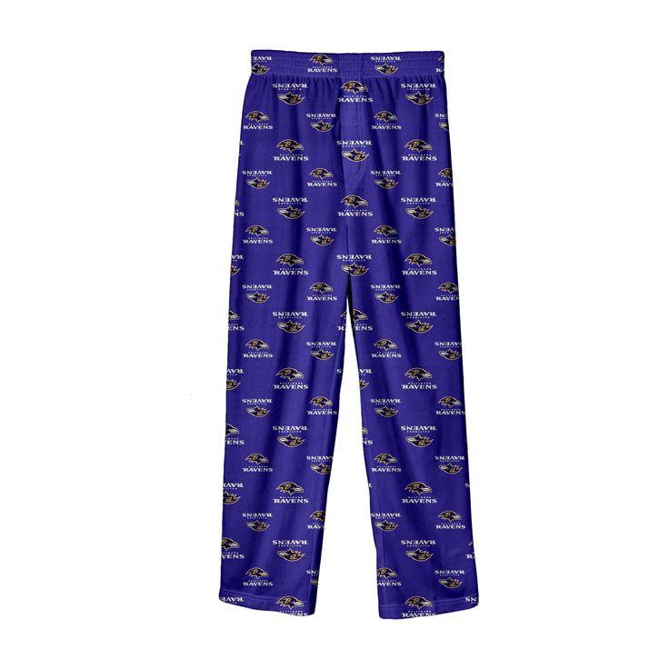NFL Baltimore Ravens Lounge Pants XL, Boy's