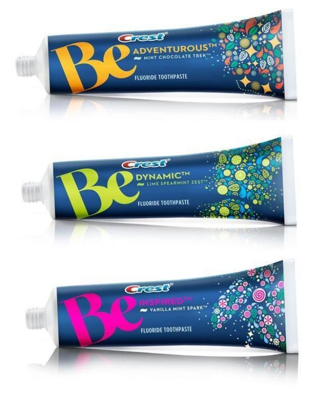 Crest Be range toothpaste targets millennials with more adventurous names and flavours