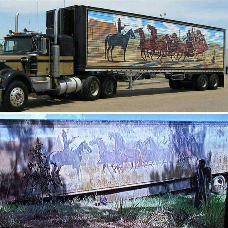 Smokey and the bandit trailer on the walking dead