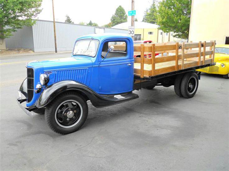 Fbcfb A Cdd D C B Ee Farm Trucks Pickup Trucks on Vintage Tractors Ebay
