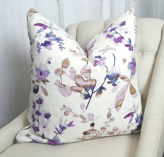 Purple Pillow Covers Throw Pillow Covers 26x26 Pillow