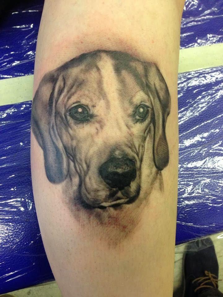 JP Wikman | Tattoo Art Project  Dog tattoo
