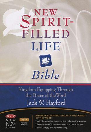 NKJV New Spirit Filled Life Bible, Bonded leather, Burgundy
