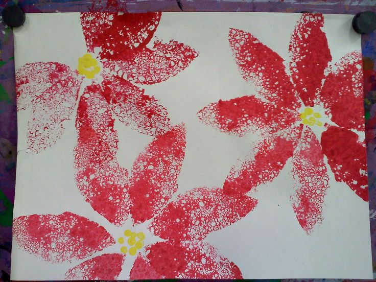 62 best poinsettia images on pinterest xmas christmas for Mexican christmas crafts for kids
