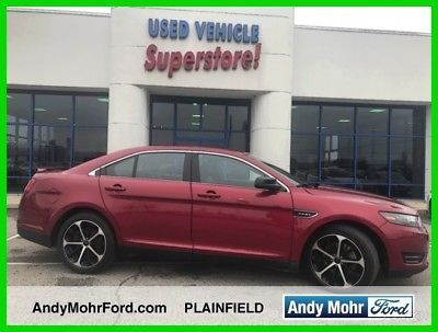 2015 Ford Taurus SHO 2015 SHO Used Certified Turbo 3.5L V6 24V Automatic AWD Sedan Premium